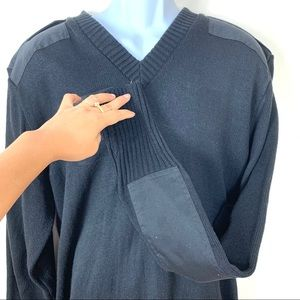 citadel Sweaters - Citadel V Neck sweater  size L made in Britain